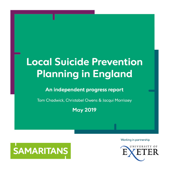The national review of local suicide prevention plans