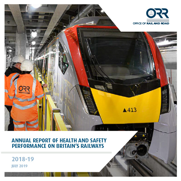 Annual Report of Health and Safety Performance on Britain's Railways