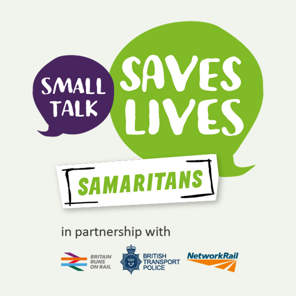 Small Talk Saves Lives achieves a hat-trick