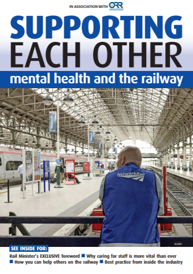 RAIL magazine webinar aids mental health and wellbeing